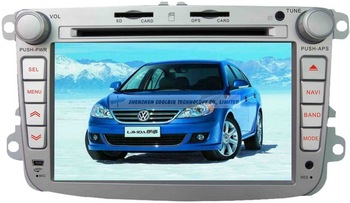 "8.0"" Touch Screen 2 din GPS Car dvd for Lavida 2007 2010 Ipod Bluetooth Radio RDS USB SD player+4G card+Free map"