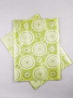 African Fabric Sego Headtie 2 Yards Lemon ht0358_8