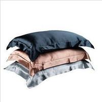 #558  hotel home pure %100 silk single bedclothes sham pillow case sleeping min2pcs  freeshipping