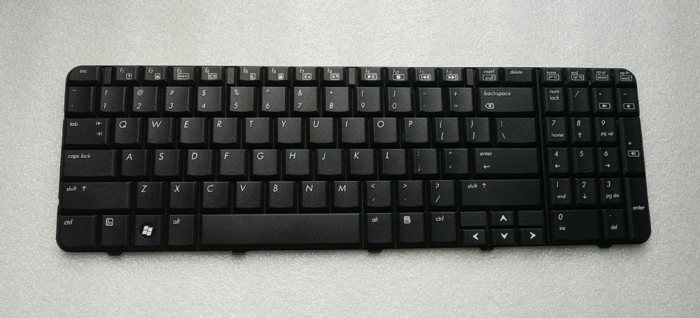 Keyboard for HP CQ60 G60, US layout, black(China (Mainland))