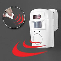 Drop&Free Shipping Independent Home Security PIR Motion Sensor Alarm with 2 Remote Control