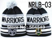 Free Shipping WARRIORS NRL Beanie Hat Winter Headwear