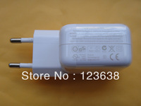 Free shipping+1 sample,wihte New 10W USB Power Charger Adapter for iPad 1 iPad 2 iPad 3 iphone 4s ipod EU plug