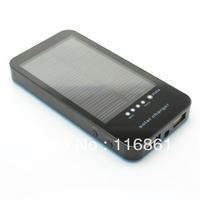 6PCS Free shipping 3600mAh Solar Charger for Mobile Phones Tablets Digital Cameras DVs(5V)