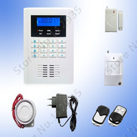 GSM+PSTN dual network home security alarm system for global use