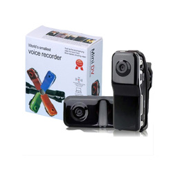 Free shipping Black Sports Video Camera MD80 Webcam web Cam Hot Selling Mini DVR Camera & Mini DV(China (Mainland))