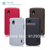 high end Nillkin matte hard case for nexus 4, free screen protector, free shipping
