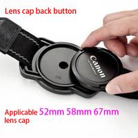 Slr camera lenses suspenders buckle lens cover storage buckle lens cover buckle Suitable for 52 mm, 58 mm, 67mm lenses cap