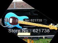 best Ernie Ball Musicman Stingray Classic IV Bass Lake Tahoe Blue Birdseye Maple Neck OEM Available Cheap