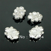 2014 Newest Fashion Shank Rhinestone Metal Alloy Wedding Garment Craft Jewelry Buttons, Factory Supply