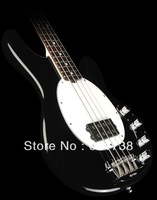 best Ernie Ball Music Man StingRay Electric Bass Guitar Black free shipping