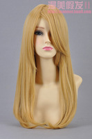 Hot Sell! New Fashion Style Sound Horizon Long Cosplay Blonde Wig T1003