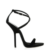 new arrive  2013 fashion  high heel 12cm  Shaped heel Ribbon wound  Imitation sheepskin  black women shoes  party  women Sandals