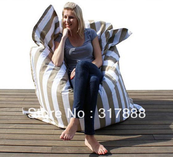 The original !!!! STRIP design beanbag chair, adults sitting bean bag sofa seat - free shipping(China (Mainland))