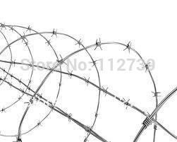 Barbed wire Various Specifications and Spiral Up