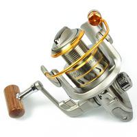 8 shaft sf3000 metal folding rocker arm fishing reels spinning wheel