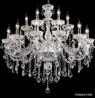FREE SHIPPING Lamp luxury fashion crystal chandelier candle lamp living room lights crystal lamp lighting pl7220-15