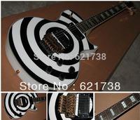 best Factory Custom Zakk Wylde Signature Electric Guitar- Bull's Eye N9 in stock