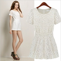 Women's Fashion  Lace Clothes/ Summer  Jumpsuits  /Casual Sets  Free Shipping