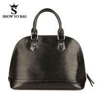 High Quality Genuine Leather Shell Pattern Bag Totes Handbags Designer Shoulder Bags For Women  Holiday SaleGLB-057