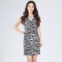 2013 spring and summer  women's dress plus size fashion brief elegant slim one-piece dress hot sale