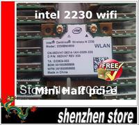 Intel Centrino 2230 2230BNHMW Wi-Fi Bluetooth BT Mini PCI-E Card half pcie free shipping Airmail  + tracking code