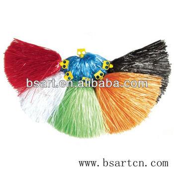 cheerleading pompom,pom pom ,red, blue ,green ,white ,black ,yellow ,orange