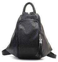 Free shipping-Multifunctional  women's handbag vintage backpack women's PU handbag bag all-match backpack