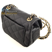 hot sell women leather shoulder bag messenger bag handbag bags with gold chain free shipping