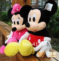 1M lovers gifts Big Plush toy 100CM Mickey Mouse mickey Minnie birthday gift Wedding gifts Free shipping 2207