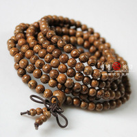 Buddhist supplies [bamboo prayer beads] 5mm * 216 pieces of chicken wings wooden prayer beads rosary bracelet car hanging