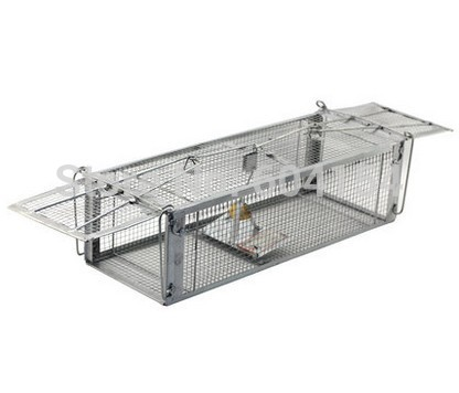 two-door rat-trap,Continuous mousetrap,mouse cage,mousetrap home,the glue rat board stick rat control device was used(China (Mainland))