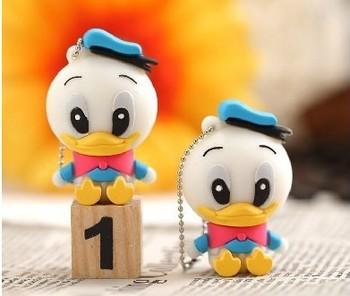 New cartoon little duck model usb 2.0 memory stick pen thumbdrive 4-32GB