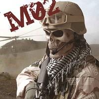 M02 skull mask 2 skull mask cs full protective mask of terror