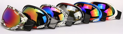 Polisi skiing mirror p-14 card double layer snow glasses myopia anti-fog skiing mirror goggles general(China (Mainland))
