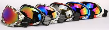 Polisi skiing mirror p-14 card double layer snow glasses myopia anti-fog skiing mirror goggles general