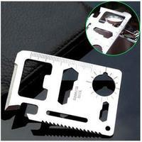 Saber card  outdoor tools  universal  life-saving card multi-function knife card