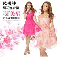 Free shipping couture lace shift dress, lady dress 1pcs/lot