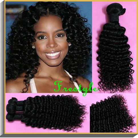 Natural Afro Weave Hair Weave,#1b Natural