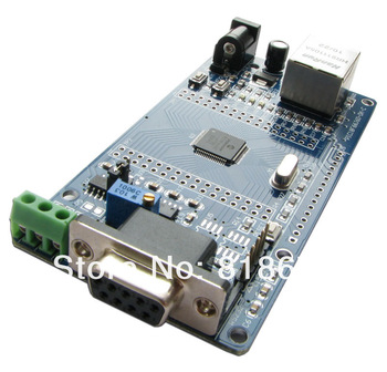 2pcs new Microchip PIC18F66J60 development board Ethernet RS485 RS232 interface ,freeshipping