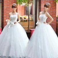 The bride wedding dress formal dress  fashion sweet princess royal classic