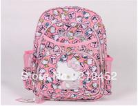 Free shipping mini size backpack /hellokitty school bag/ hello kitty backpacks,little girl school bag, wholesale,1 pcs 1 lot