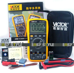Free shipping Brand new VC97 3 3/4 Auto Range digital Multimeter, improved design(China (Mainland))