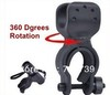 1PC Cycling Grip Mount Bike Clamp Clip Bicycle Flashlight LED Torch Light Holder Plastic Clip Flashlight Holder