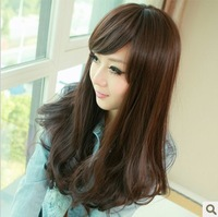 Free shipping  Wig non-mainstream wig fluffy long curly wig girls wig High temperature silk wig