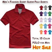 2013 New Cotton T shirt Short Sleeve Shirts boy's men Tops Brand T-shirt color Free Shipping