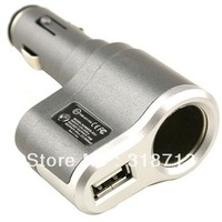 Single cigarette lighter socket (with USB charger)