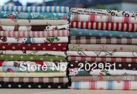 20cm*25cm LINEN patchwork fabric bundle, Janpan korea shabby chic linen,22 Designs mixed wholesale FREE SHIPPING