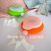 Free shipping  Macaron Silicone Pot ,Christmas bakeware,Muffins/Almond round cakes tools decorating pen Decomax Pen cake pot