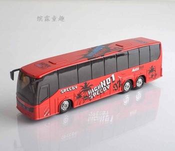 Alloy car models luxury bus WARRIOR car bus alloy bus artificial toys car model